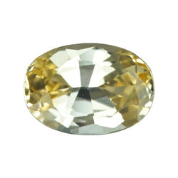 1.71 ct Oval Yellow Sapphire Certified Unheated