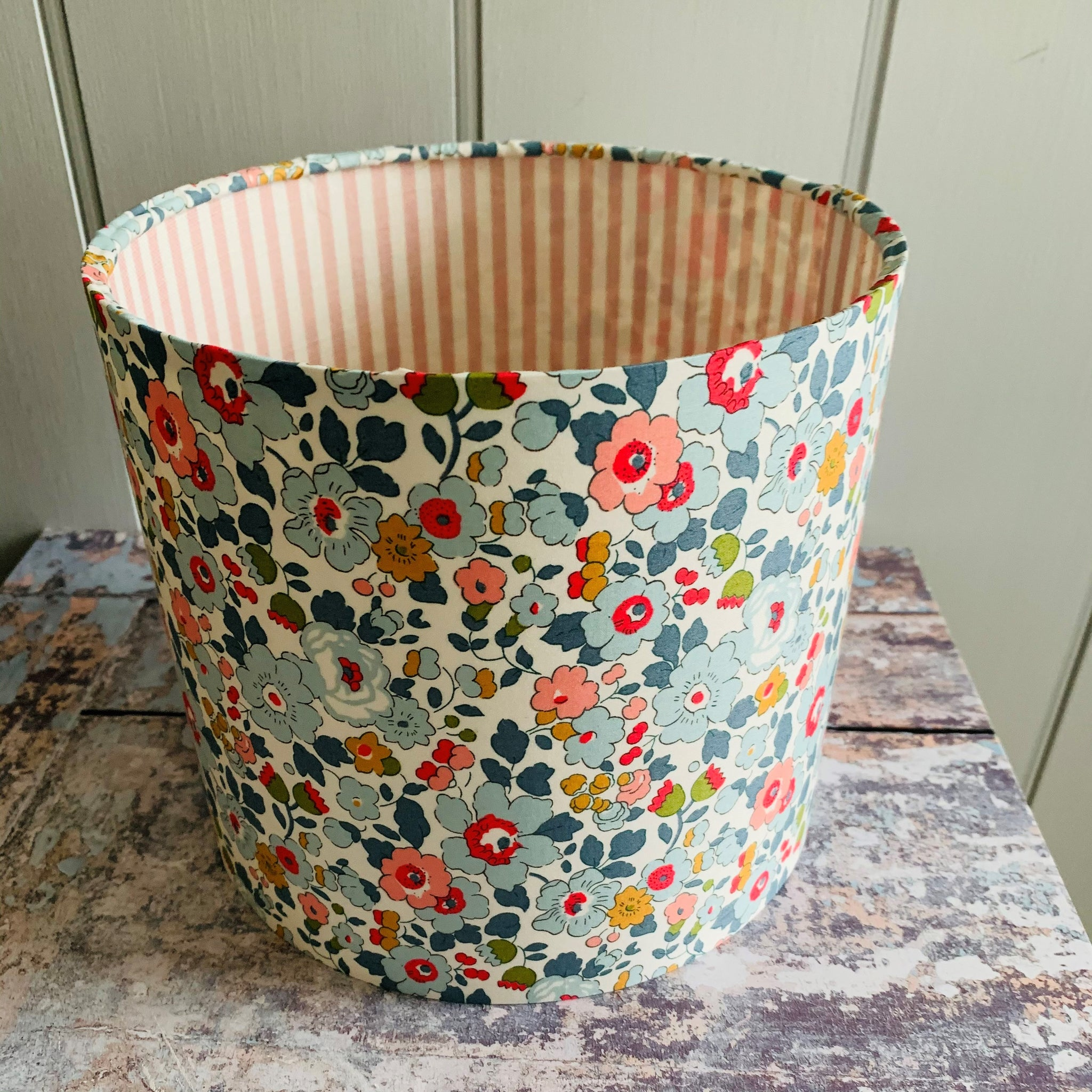 Liberty double sided lampshade