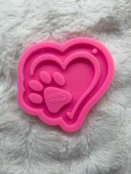 Heart w/ Paw Mold
