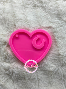 Heart w/ Horse Shoe Mold