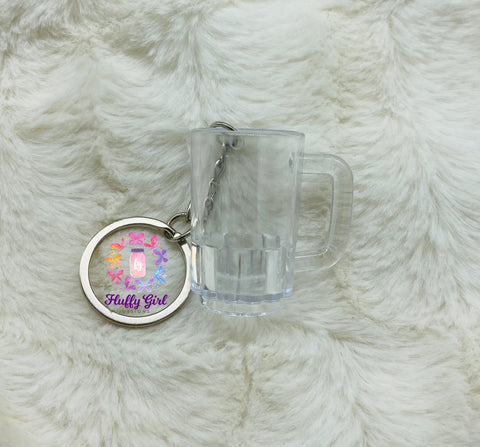 Mini Beer Mug Keychain