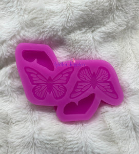 Butterfly Straw Topper Mold
