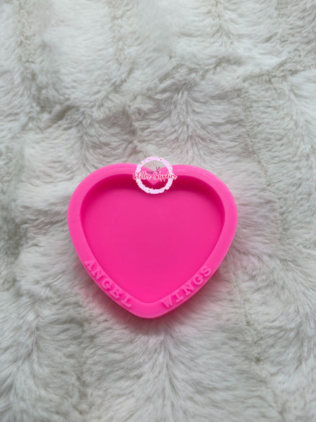 Heart Badge Reel Mold