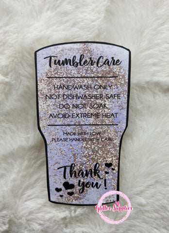 Lavender Care Cards