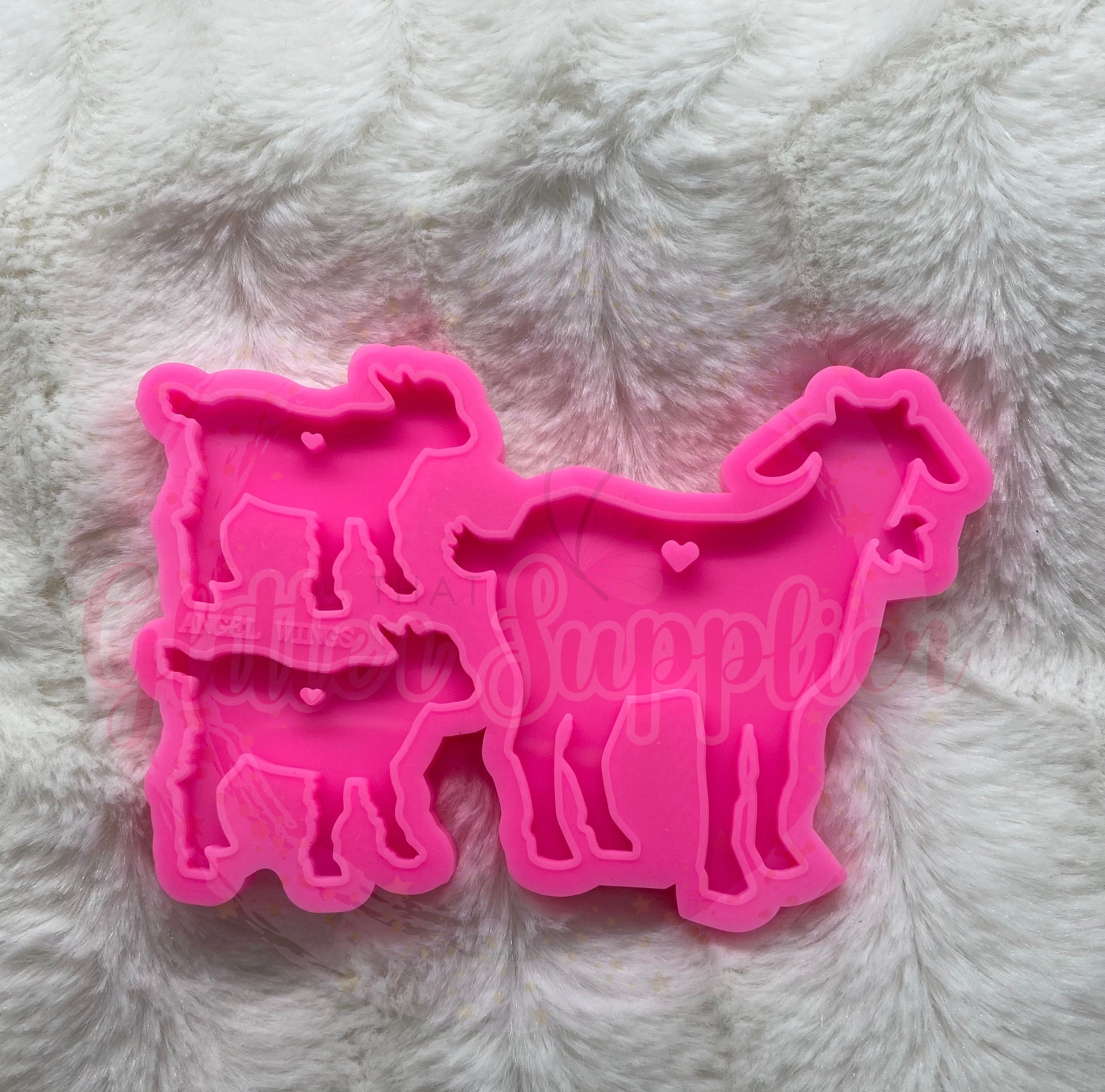 Goat Family Mold