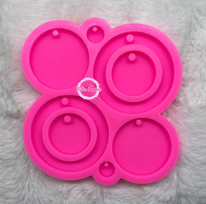 Hoop Earrings Palette Mold