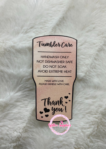 Beige Care Cards