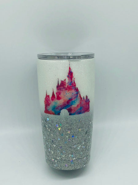 Disney, Mickey, Minnie, Mickey Mouse, Glitter Cup, Tumbler, Kids, Disney Cup, Disney Birthday, Cup, Glitter , Minnie Mouse, Coffee Mug,Ombre