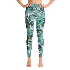 Green Nature Yoga Sports Leggings
