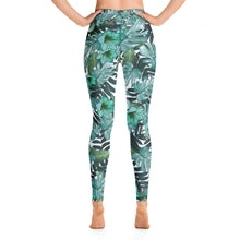Load image into Gallery viewer, Green Nature Yoga Sports Leggings