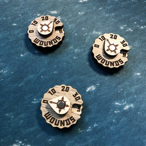 WH WC Wargaming Wound Dial/Tracker Packs
