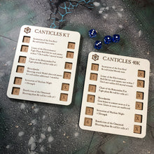 Load image into Gallery viewer, WH AM Canticles Dice Dashboard Set