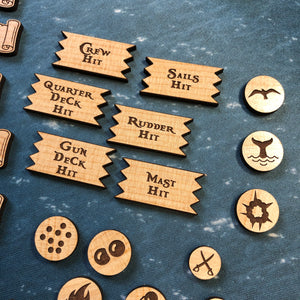 Black Seas Token Set