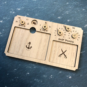 Black Seas Deluxe Dashboard Set