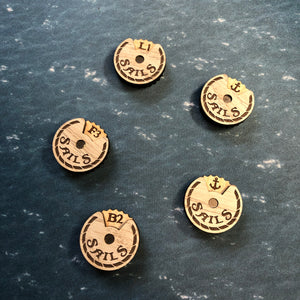 Black Seas Sails Dials Set
