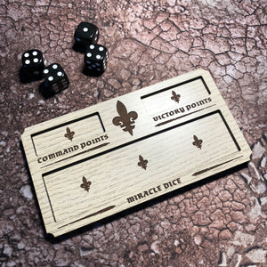 WH 40K Sisters of Battle Wargaming Dashboard