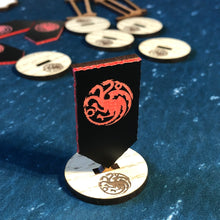 Load image into Gallery viewer, ASOIAF TMG - Targaryen Activation Banner Set