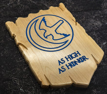 Load image into Gallery viewer, Game of Thrones House Arryn Carved Plaque