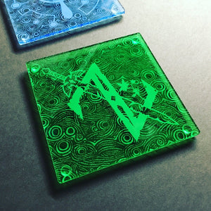 Legend of Zelda Breath of the Wilderness Coasters