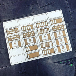 Ammo Crate  Miniature Terrain/Scenery/Objective Markers