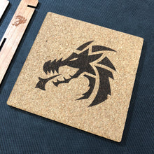 Load image into Gallery viewer, Dragon Themed Tabletop Gaming Dice Tray