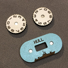 Load image into Gallery viewer, Naval War Gaming Damage/Hull Dial Counter Set