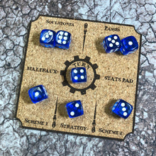 Load image into Gallery viewer, Malifaux Stats Tracker Pad/Coaster Set