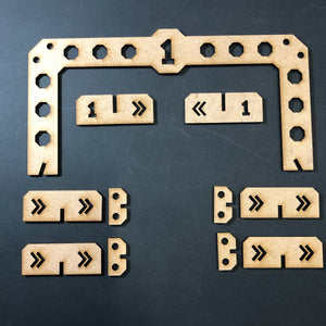 Gaslands Gate/Course Marker Set