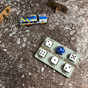 Gaslands Dashboard Set