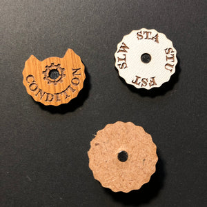 Malifaux End of Activation Condition Dial Set