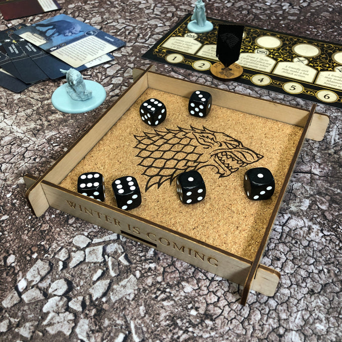 Stark Dice Tray - A Song of Ice & Fire TMG