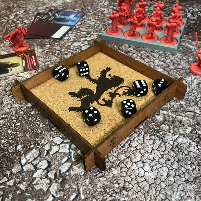 Lannister Dice Tray - A Song of Ice & Fire TMG