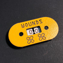 Load image into Gallery viewer, Tabletop Gaming Stats Trackers - Wounds Damage Health Lives