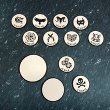 Load image into Gallery viewer, Malifaux Acrylic Token Set
