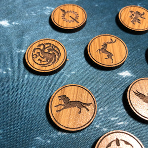 A Game of Thrones Card Game House Power Tokens