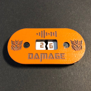 Transformers TCG Damage Trackers