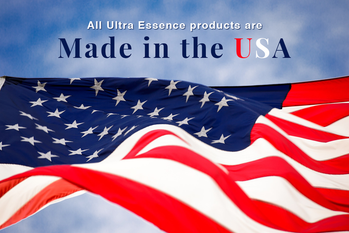 Why Ultra Essence Skin Care Products are Made in the USA