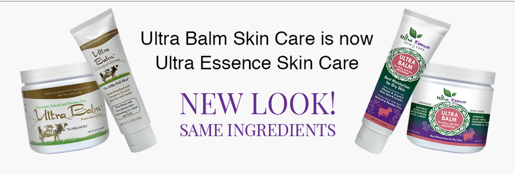Ultra Balm is now Ultra Essence Skin Care