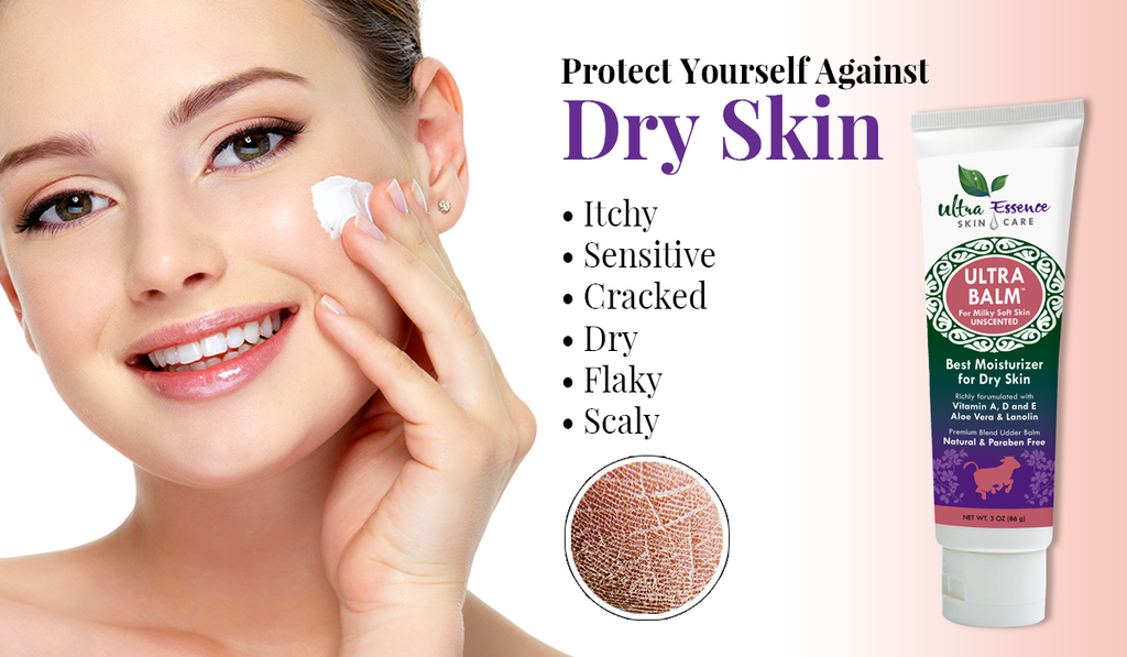 Dry Skin | Ultra Essence natural skin care products, with anti aging benefits, are specially formulated to moisturize dry skin for radiant milky-soft skin.