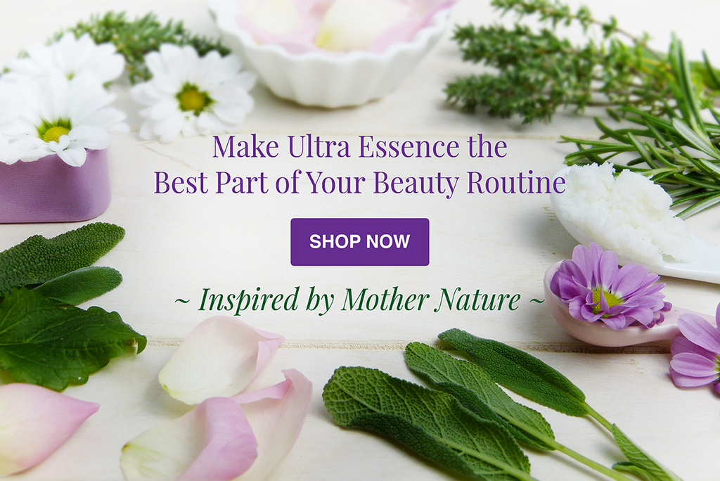 Shop Ultra Essence natural skin care products, with anti aging benefits, specially formulated to moisturize dry skin for radiant milky-soft skin.