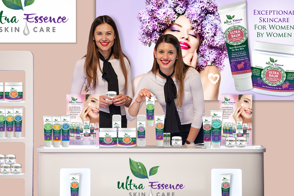 Vendor Program | Ultra Essence natural skin care products, with anti aging benefits, are specially formulated to moisturize dry skin for radiant milky-soft skin.