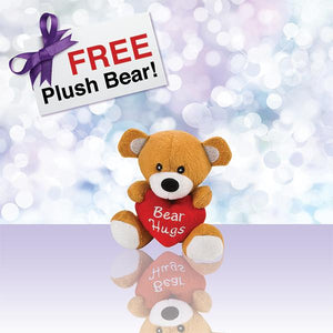 "FREE Plush 4.5"" Birthday Bear"