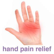 Load image into Gallery viewer, Ultra Pain Free 3 oz. tube, a natural, cooling topical pain reliever, can be used on the hands to relieve hand joint and muscle pain.