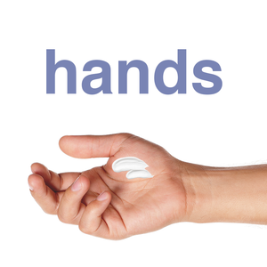 Ultra Handy Man, daily moisturizer and skin softener for men, can be used on dry hands.