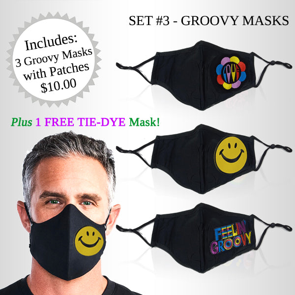 Personality Mask Set # 3 - Groovy Masks