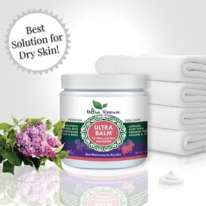 Unscented Ultra Balm 16 oz. Jar is the best natural, daily moisturizer for all skin types to give you milky soft skin.