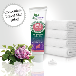 Unscented Ultra Balm 3 oz. tube is the best natural, daily moisturizer for all skin types to give you milky soft skin.