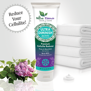 Ultra Diminish 8.5 oz tube is the best natural, cellulite treatment cream that effectively reduces cellulite as it nourishes the skin to look younger.