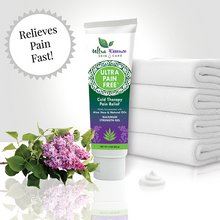 Load image into Gallery viewer, Ultra Pain Free 3 oz. tube is a natural, cooling topical pain reliever for joint, back, arthritis, and muscle pain.