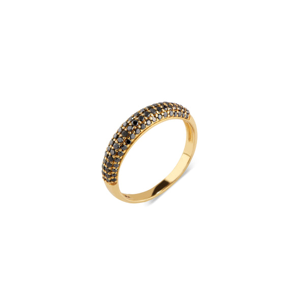 Satya, Black Diamond Ring